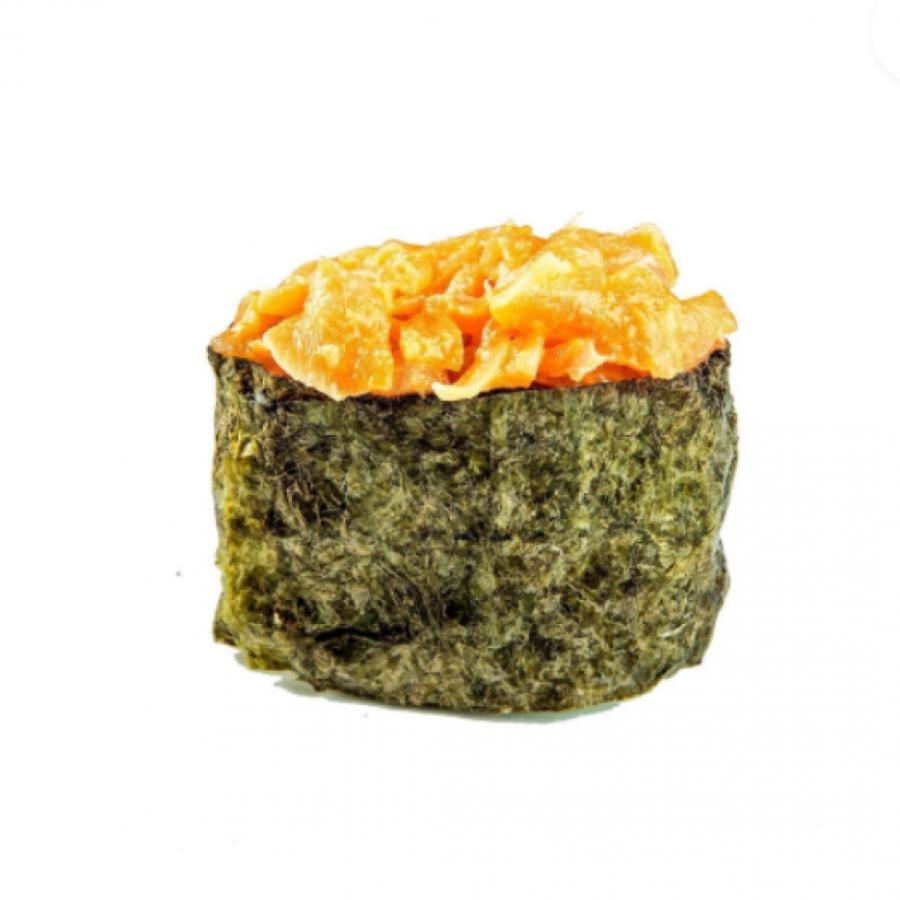 Суши острое с лососем